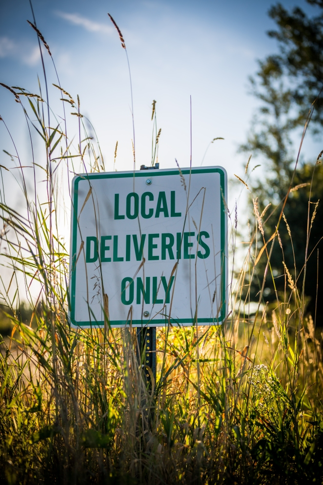 Local Deliveries Only