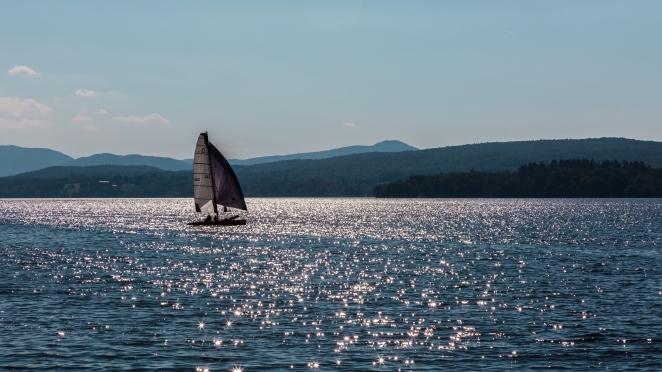 Lake Memphremamgog, Magog, QC
