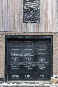 Nomad Nation Garage Door Edition